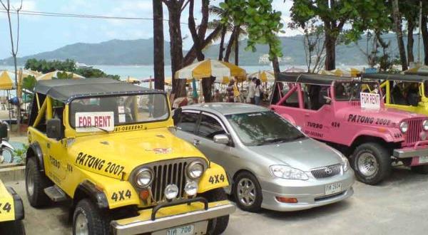 Аренда авто на Пхукете цены